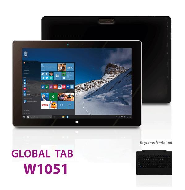 Tablette I.ONIK W1051 - 10.1 - Noir