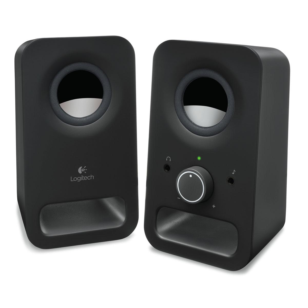Enceinte Logitech Z150 - Noir - 980-000814