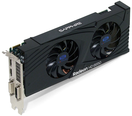 Carte Video Radeon HD6950 - DDR5 - 1 GB